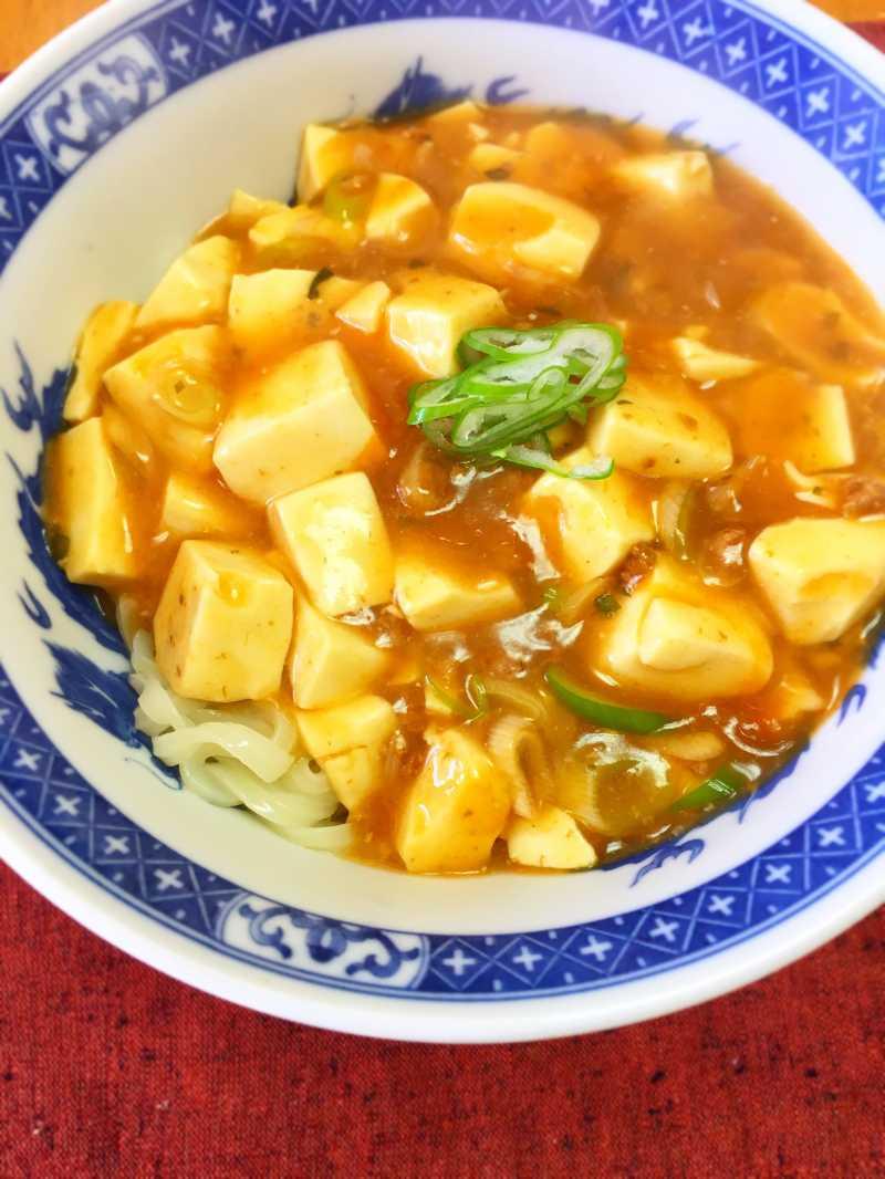 素 麻 アレンジ 婆 豆腐 の